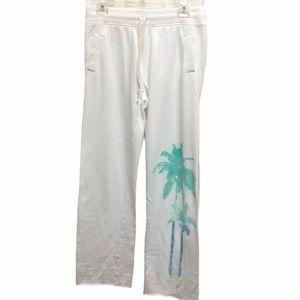 Victoria's Secret SweatPants Joggers Palm Tree